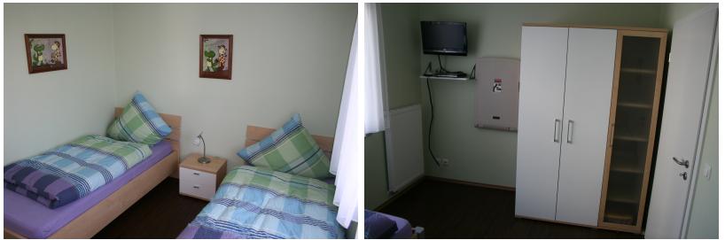 Schlafzimmer Kinder Ferienwohnung Enjoy Fehmarn 2 Bis 4